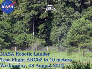 Испытания нового посадочного аппарата NASA