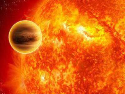 Красный гигант поглотил свою планету