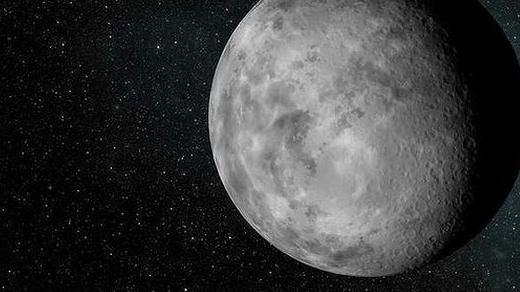 Лунные кратеры могут быть заполнены не только родным грунтом