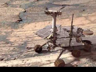 Марсоход Оппортьюнити устраивается на зимовку