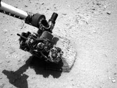 Марсоход впервые прикоснулся щупальцем к Красной планете.