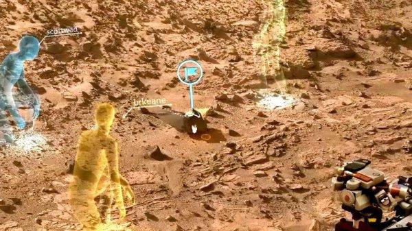 НАСА и Microsoft дадут возможность ученым работать на Марсе