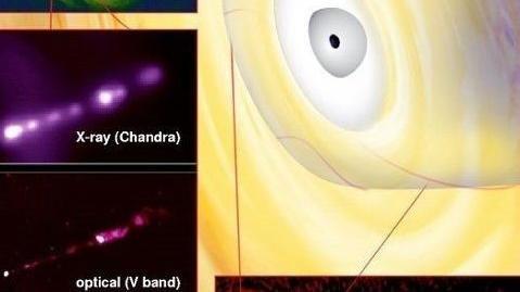 Радиоастрон намерен зафиксировать тень черной дыры