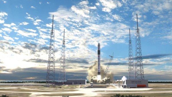 Частная компания SpaceX может устроить революцию
