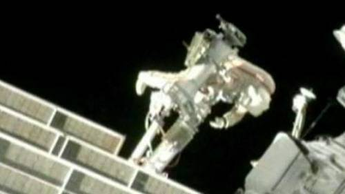 Плановый выход в открытый космос 32 экспедиции МКС.
