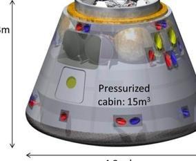 У Японии готова модель пилотируемой капсулы