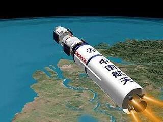 В космос ушел пятый китайский экипаж