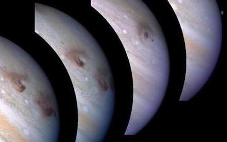 Юпитер напоила комета